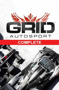 GRID Autosport Complete Edition PC Cover Download