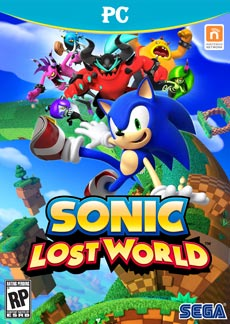 Sonic Lost World PC Game Download Cover