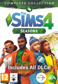 Sims 4 Seasons Complete Collection Free Download PC Cover