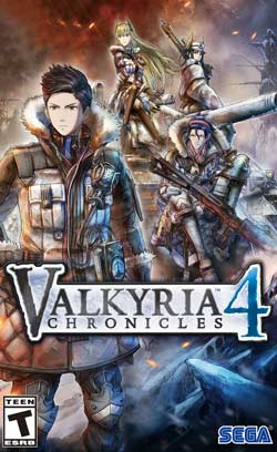 Valkyria Chronicles 4 PC Cover Download