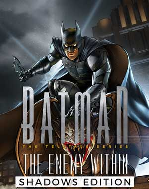 Batman The Enemy Within Shadows Edition PC Cover Download
