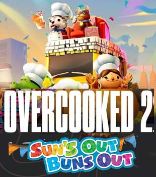 Overcooked 2 Suns out Buns Out PC Cover Download
