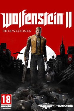 Wolfenstein II The New Colossus PC Cover Download