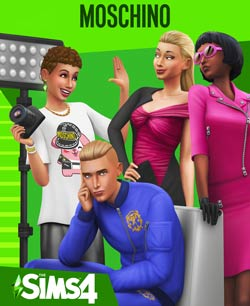 Sims 4 Moschino PC Cover Download
