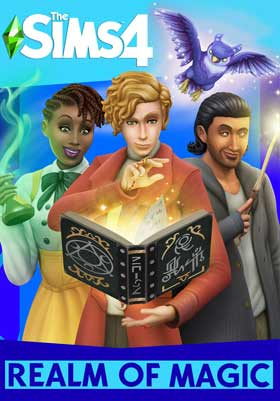 Sims 4 Realm Of Magic PC Cover Download
