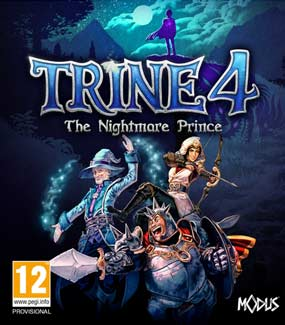 Trine 4 The Nightmare Prince PC Cover Download