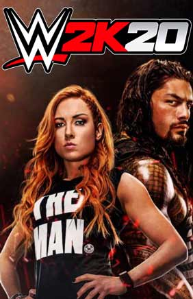 WWE 2K20 PC Cover Download