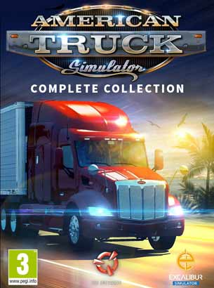American Truck Simulator PC Cover Download