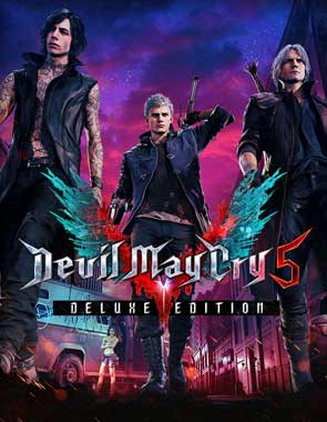 Devil May Cry 5 PC Cover Download