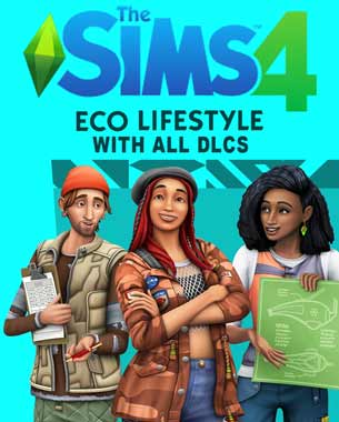 Sims 4 Eco Lifestyle PC Cover Download