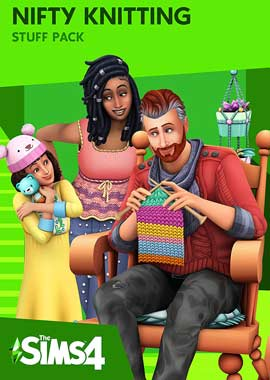 Sims 4 Nifty Knitting PC Cover Download