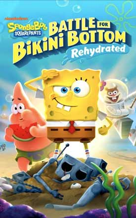 SpongeBob SquarePants Battle for Bikini Bottom Rehydrated PC Cover Download