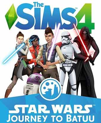 Sims 4 Star Wars Journey to Batuu PC Cover Download