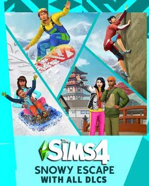 Sims 4 Snowy Escape PC Cover Download