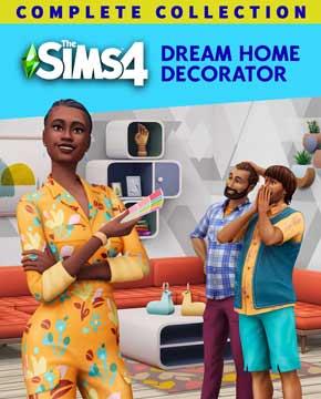 Sims 4 Dream Home Decorator PC Cover Download