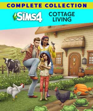 Sims 4 Cottage Living PC Cover Download